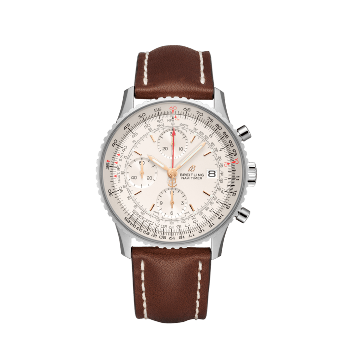 Breitling Navitimer Chronograph 41, Stainless Steel, Mercury silver dial, A13324121G1X3