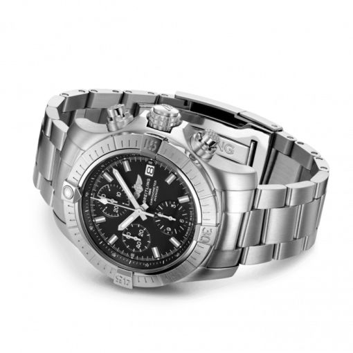 Breitling Avenger Chronograph 43, Stainless Steel, Black dial, A13385101B1A1