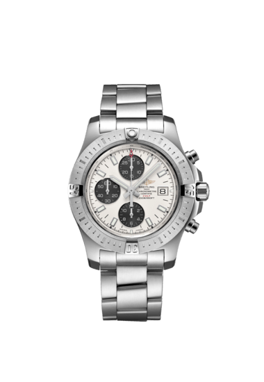 Breitling Colt Chronograph Automatic 44mm, Stainless Steel, Stratus silver dial, A13388111G1A1