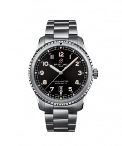 Breitling Aviator 8 Automatic 41, Stainless Steel, Black dial, A17315101B1A1