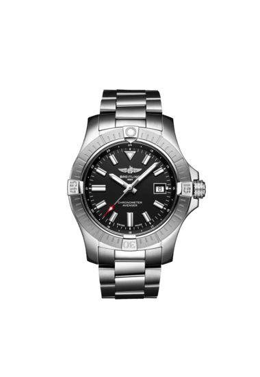 Breitling Avenger Automatic 43, Stainless Steel, Black dial, A17318101B1A1