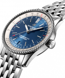 Breitling Navitimer Automatic 38, Stainless Steel, Blue dial, A17325211C1A1