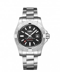 """Breitling Avenger II Seawolf, Stainless Steel, 45mm, """"Volcano Black"""" dial, A17331101B1A1"""