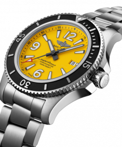 Breitling Superocean Automatic 44, Stainless Steel, 44mm, Yellow dial, A17367021I1A1