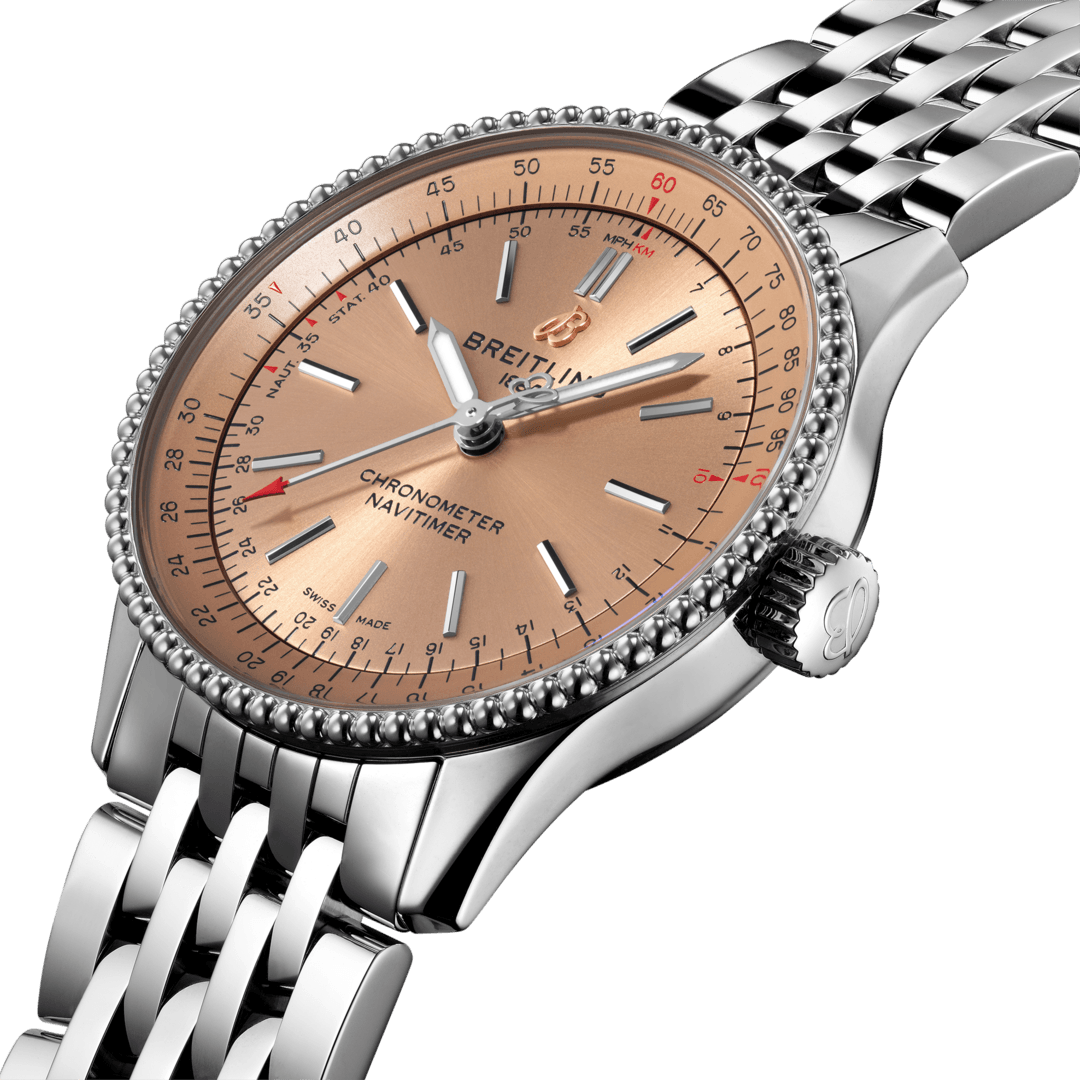 Breitling Navitimer Automatic 35, Stainless Steel, 35mm, Copper dial, A17395201K1A1