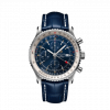 Breitling Navitimer Chronograph GMT 46, Stainless Steel, Blue dial, A24322121C2P1