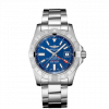 """Breitling Avenger II GMT, Stainless Steel, 43mm, """"Mariner Blue"""" dial, A32390111C1A1"""