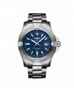 Breitling Avenger Automatic GMT 45, Stainless Steel, Blue dial, A32395101C1A1