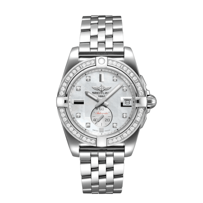 Breitling Galactic 36 Automatic, Stainless Steel, Mother-of-pearl dial, A37330531A1A1