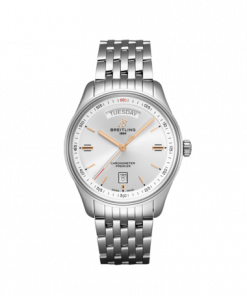 Breitling Premier Automatic Day & Date 40, Silver dial, A45340211G1A1