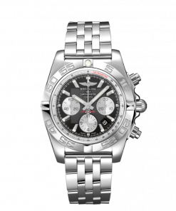 Breitling Chronomat 44, Stainless Steel, Onyx Black dial, AB0110121B1A1