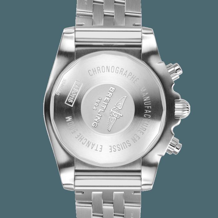Breitling Chronomat B01 Chronograph 44, Stainless Steel, Blue dial, AB0115101C1A1