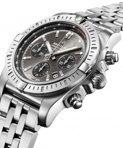 Breitling Chronomat B01 Chronograph 44, Stainless Steel, Anthracite dial, AB0115101F1A1