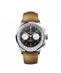 Breitling Premier B01 Chronograph 42 Norton, Stainless Steel, Black dial, AB0118A21B1X1