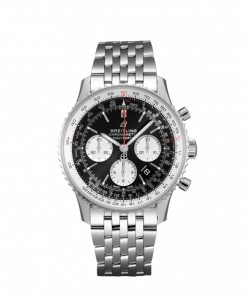 Breitling Navitimer B01 Chronograph 43, Stainless Steel, Black dial, AB0121211B1A1