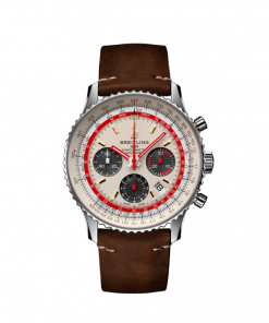 Breitling Navitimer B01 Chronograph 43 TWA Edition, Stainless Steel, Silver dial, AB01219A1G1X1