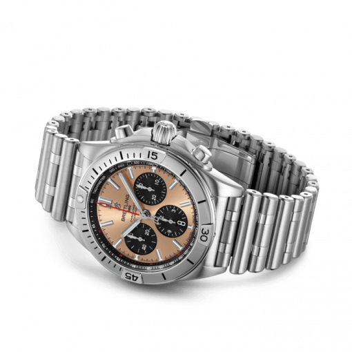 Breitling Chronomat B01 42, Stainless Steel, Copper-colored dial, AB0134101K1A1