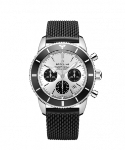 Breitling Superocean Heritage B01 Chronograph 44, Stainless Steel, 44mm, Silver dial, AB0162121G1S1