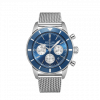 Breitling Superocean Heritage B01 Chronograph 44, Stainless Steel, 44mm, Blue dial, AB0162161C1A1
