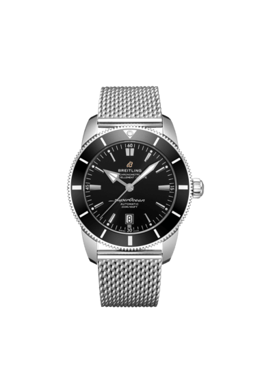Breitling Superocean Heritage B20 Automatic 46, Stainless Steel, 46mm, Volcano Black dial, AB2020121B1A1