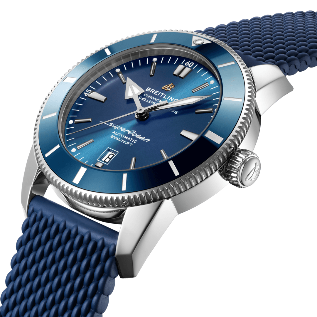 Breitling Superocean Heritage B20 Automatic 46, Stainless Steel, 46mm, Blue dial, AB2020161C1S1