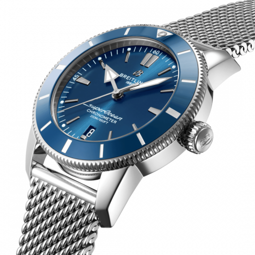 Breitling Superocean Heritage B20 Automatic 44, Stainless Steel, 44mm, Blue dial, AB2030161C1A1