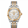 Breitling Galactic 36 Automatic, Stainless Steel and 18k Rose Gold, White Mother-Of-Pearl dial, 36mm, C37330121A1C1