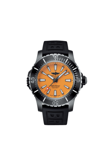 Breitling Superocean Automatic 48, Titanium, 48mm, Yellow dial, E17369241I1S1