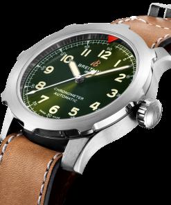 Breitling Aviator Super 8 B20 Automatic 46, Titanium, Green dial, EB2040101L1X1