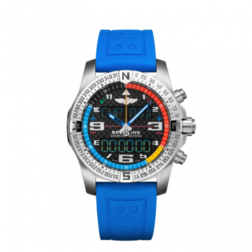 Breitling Exospace B55 Yachting, Brushed finished titanium, Black carbon fiber dial, 46mm, EB5512221B1S1