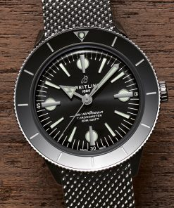 Breitling Superocean Heritage'57, 42mm, Stainless Steel, Black dial, A10370121B1A1