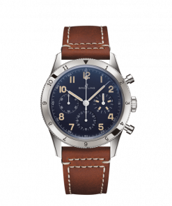 Breitling AVI 1953 Edition, Platinum, Blue dial, 41mm, LB0920131C1X1