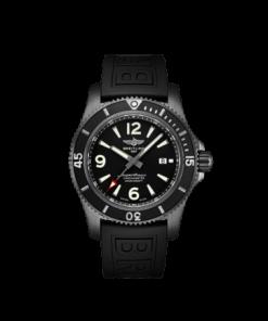 Breitling Superocean Automatic 46 Black Steel, 46mm, Black dial, M17368B71B1S1