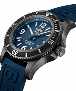 Breitling Superocean Automatic 46 Black Steel, 46mm, Blue dial, M17368D71C1S1