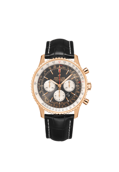 Breitling Navitimer B01 Chronograph 46, 18K Rose Gold, Anthracite dial, 46mm, RB0127121F1P2