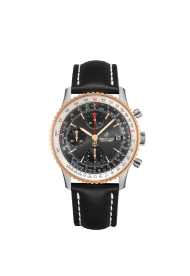 Breitling Navitimer Chronograph 41, Stainless Steel and 18K Red Gold, Black dial, 41mm, U13324211B1X2
