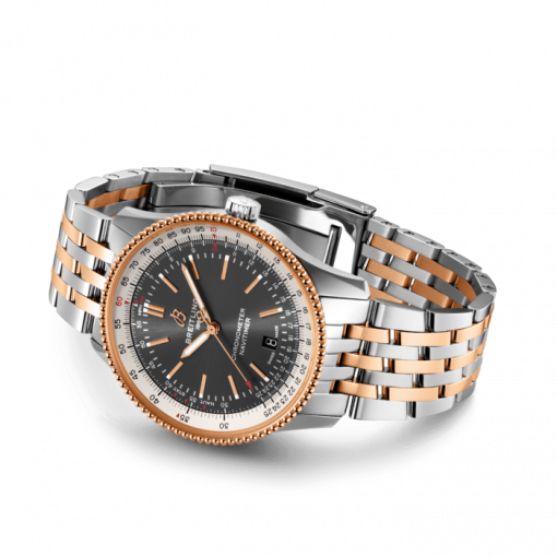 Breitling Navitimer Automatic 41, Stainless Steel and 18K Red Gold, Anthracite dial, 41mm, U17326211M1U1
