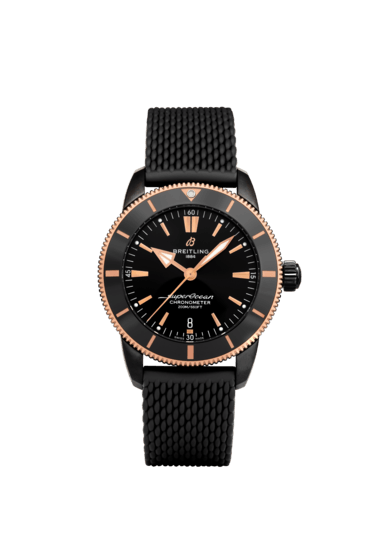 Breitling Superocean Heritage B20 Automatic 44 Beverly Hills Limited Edition, DLC-Coated Stainless Steel and 18K Red Gold Black dial, UB20303A1B1S1