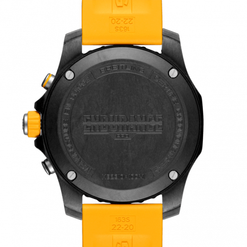 Breitling Endurance PRO, Exclusive black matt Ultralight Polymer Breitlight, Black dial, X82310A41B1S1