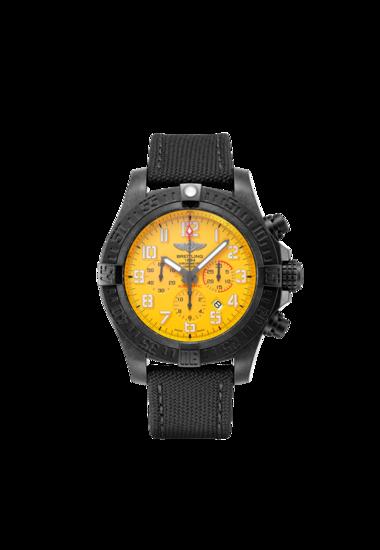 Breitling Avenger Hurricane 12H, Exclusive Ultralight Polymer Breitlight, 50mm, Yellow dial, XB0170E41I1W1