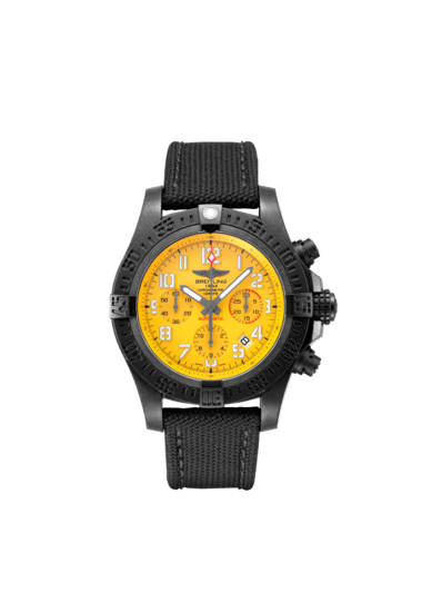 Breitling Avenger Hurricane 12H 45, Exclusive Ultralight Polymer Breitlight, 45mm, Yellow dial, XB0180E41I1W1