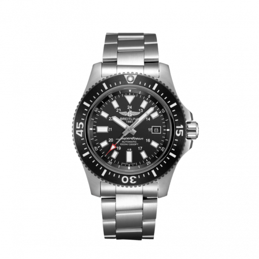 Breitling Superocean 44 Special, Stainless Steel, Black dial, Y17393101B1A1