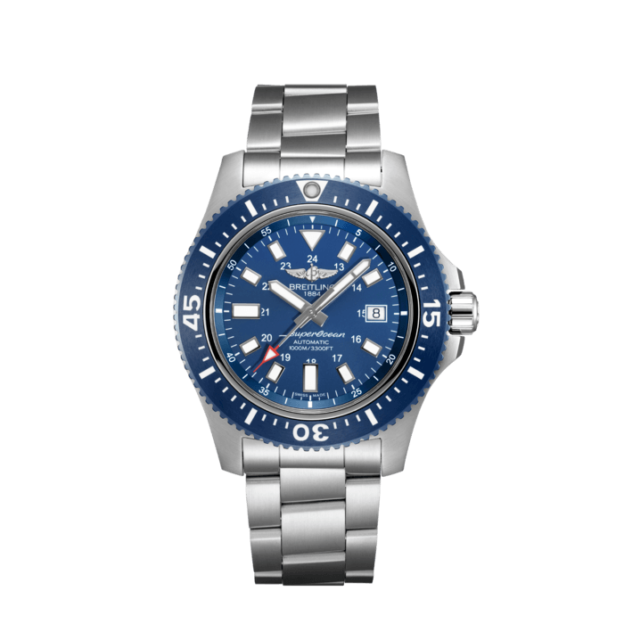 Breitling Superocean 44 Special, Stainless Steel, Blue dial, Y17393161C1A1